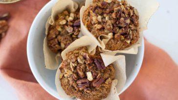 Oat Bran Sweet Potato Muffins | Vegan & Gluten Free