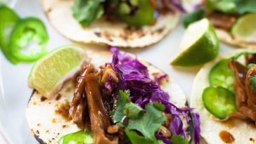 Korean BBQ Jackfruit Tacos 15 Minute Vegan Meals | @sweetpotatosoul