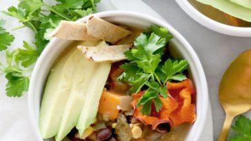 Sweet Potato Tortilla Soup