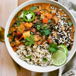 Nut-Free West African Peanut Stew