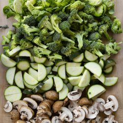 Assorted vegetables Vegan Meal Plan for Busy People