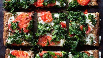 Vegan Cauliflower Pizza Crust | @sweetpotatosoul