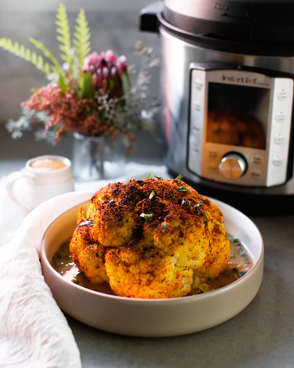 instant pot whole cauliflower
