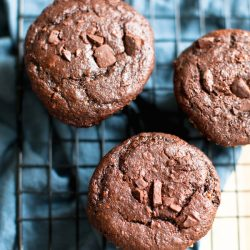 Sweet Potato Chocolate Muffins