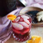 Hibiscus Elderberry Ginger Tea