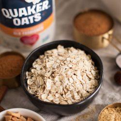 Apple Cinnamon Oatmeal Mix