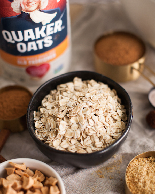 Apple Cinnamon Oatmeal Mix