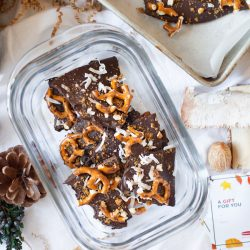 Biscoff Crumble Chocolate Bark