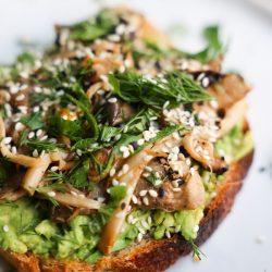 Wild Mushroom Avocado Toast