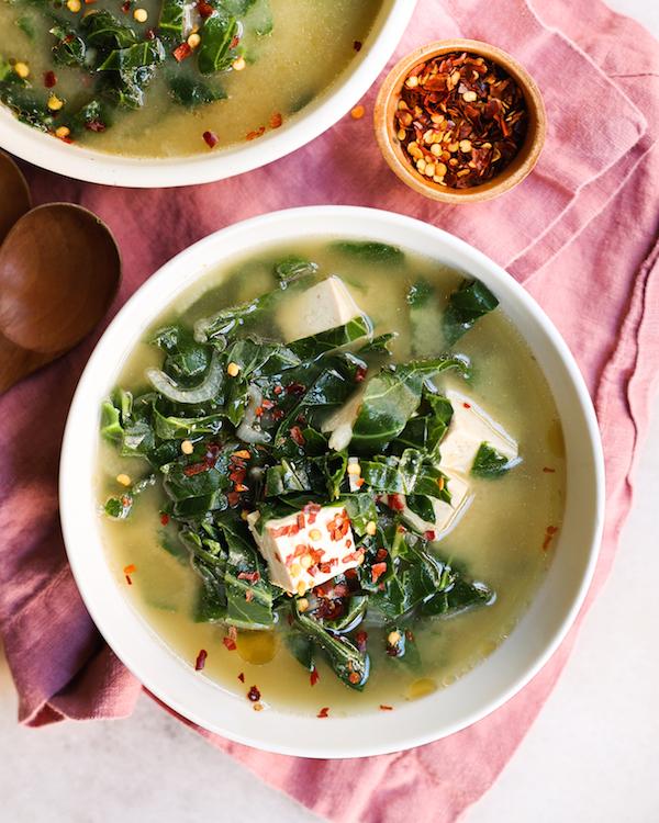 Collard Miso Soup