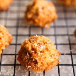 Sweet potato macaroons
