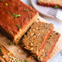 The Best Vegan Lentil Meatloaf