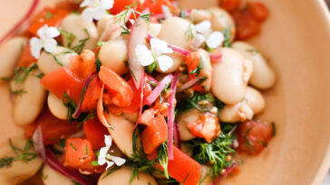 Marinated White Bean Salad