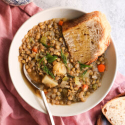 Cure-All Vegan Lentil Soup