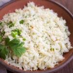 Roasted Cauliflower Rice